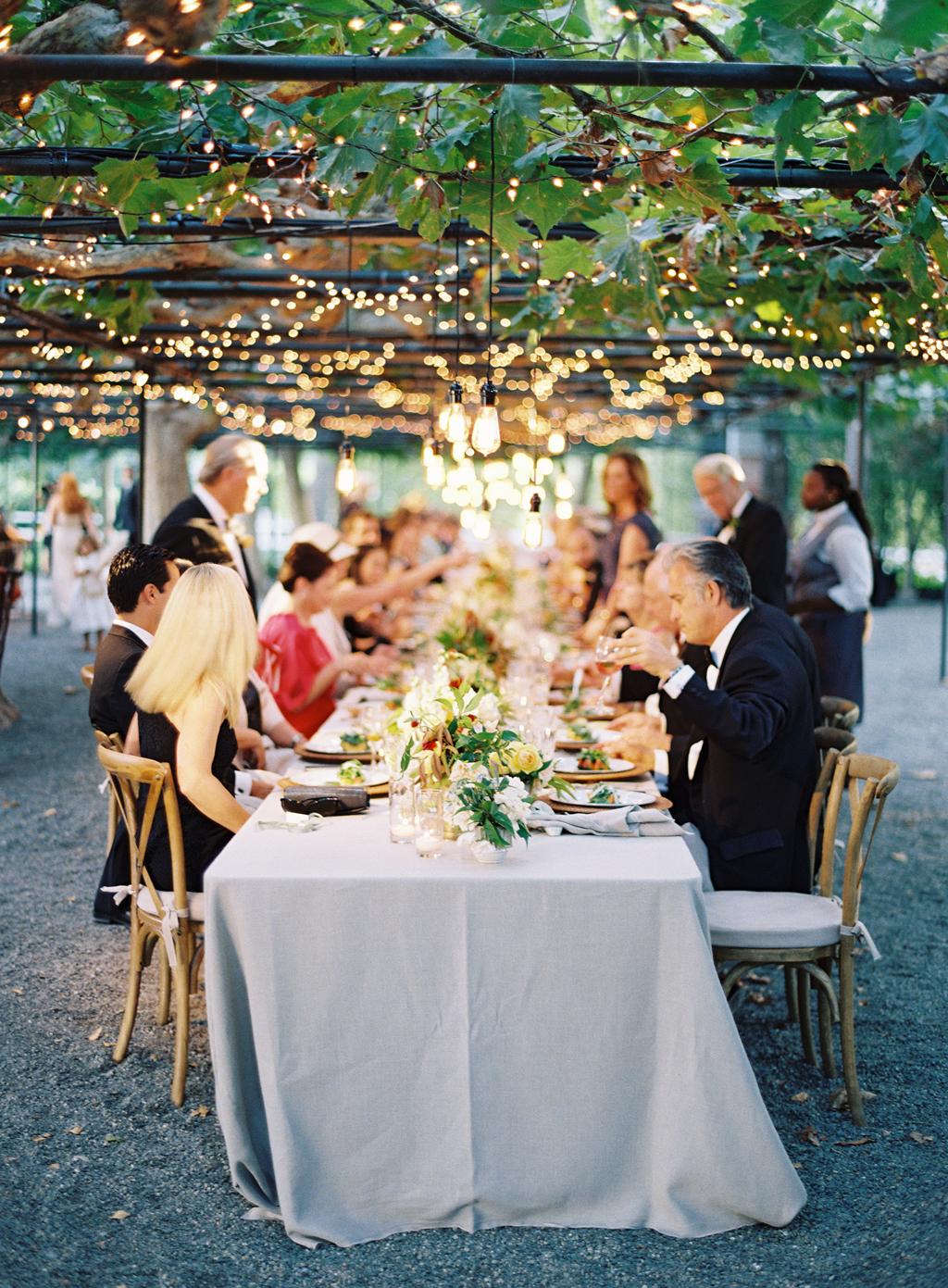 wedding dinner at beaulieu gardens