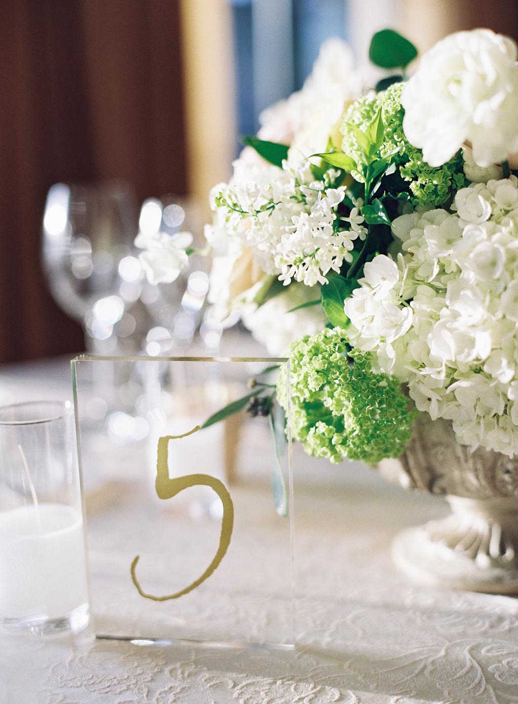 reception details at a california destination wedding at pelican hill resort.