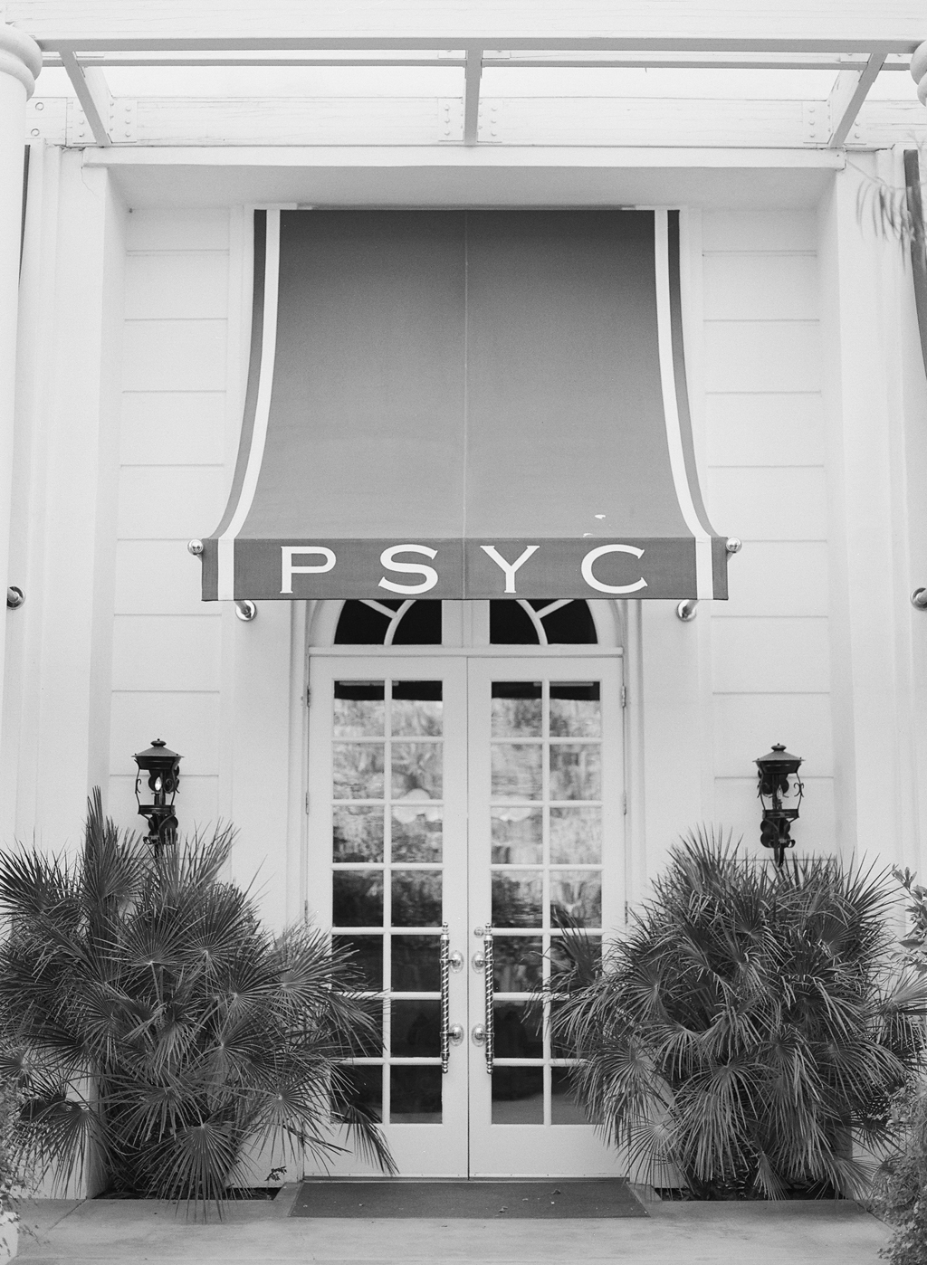 Palm Springs Yacht Club, PSYC, at the Parker Palm Springs.